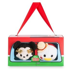 🆕 TsumTsum Italy Plush Set - New in Box 🇮🇹